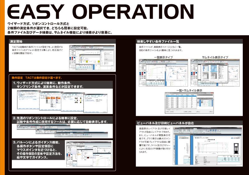 TACTパンフレットの中面フォーマット