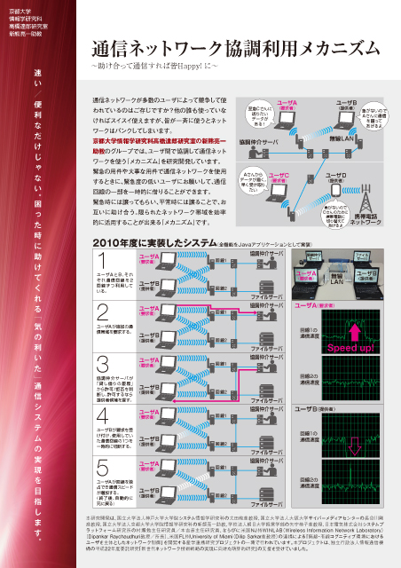 京都大学 研究成果 A4 リーフレット